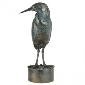 Lucy McEachern Pied Heron Bronze Ed of 25 12 x 31 x 14cm $3,800 SOLD , AVAILABLE TO ORDER