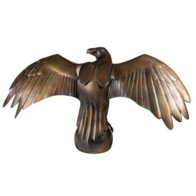Lucy McEachern Wedge Tailed Eagle back Bronze Edition of 25 100 x 50 x 25cm $14,000