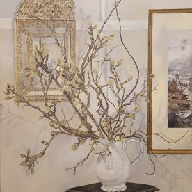 Alexandra Lewisohn Winter Magnolia