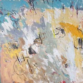 Margaret Delahunty Spencer Really Bad Dancing 1220 x 1220mm