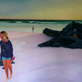 Nathan Wilkinson Sisters at Sunrise 152 x 137cm $2600
