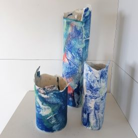 KST Blue Nordic Series Handbuilt Porcelain $95-$240