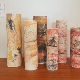 Karen Steenbergen You Yangs Series Handbuilt Porcelain $150 -$240