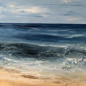 Georgie Gall Sea Surface Swell 48 x 48cm