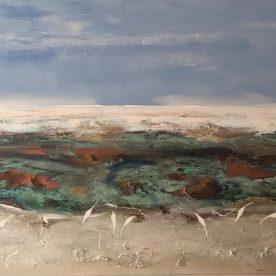 Georgie Gall Seeing the Landscape 101 x 167cm $4,000 F