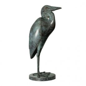 Lucy McEachern Great Blue Heron Bronze Ed of 25 66 x 30 x 30cm $10,000