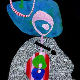 Kaz Shirley Reflection 105 x 126cm $1600
