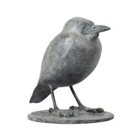 Lucy McEachern Baby Magpie Small R side Bronze Edition of 25 18 x 19 x 14.5cm $4,000