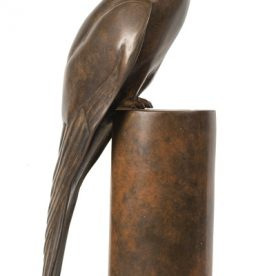 Lucy McEachern Nankeen Kestrel R side Bronze Edition of 25 18 x 19 x 14.5cm $3,000 ORDERS TAKEN