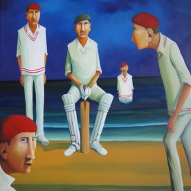 William Linford French Cricket II 150x120cm