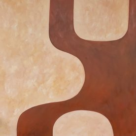 Dawn Robinson Earth Foundation 2 Oil on Canvas 1210 x 1210mm $1,250