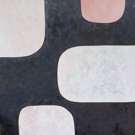 Dawn Robinson Windows Oil on Canvas 1210 x 1210mm $1,250