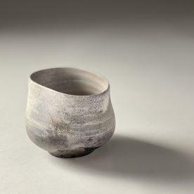 Kirsty Manger Ganesha Porcelain, pit fired 8 x 9.5 x 10.5cm SOLD