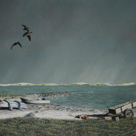 Richard Weatherly Fisherman's Camp Giclee' Ed of 150 40 x 61cm $700 p66-67 ORDERS TAKEN