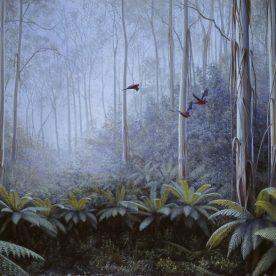 Richard Weatherly Forest Flight Giclee' Ed of 150 38 x 56cm Framed $700 p80-81