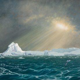 Richard Weatherly Southern Light Oil on linen 60 x 90cm Framed$17,500 p239