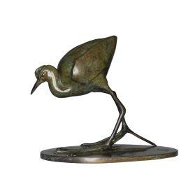 Lucy McEachern Lotus Bird Bronze Edition of 25 $3,500 SOLD ORDERS TAKEN