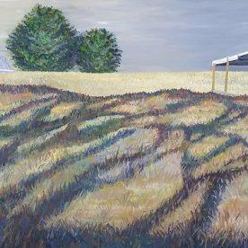 Linda Gallus 'Afternoon Shadows' Acrylic on canvas 50 x 100cm $1,900