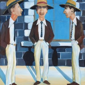 William Linford Threesome Oil on canvas 51 x 41cm $650 SOLD
