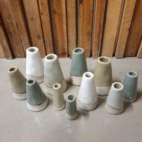 Alice Morgan Saltbush Vases Above S M L XL $25, $35,