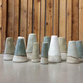 Alice Morgan Saltbush Vases S M L XL $25, $35,