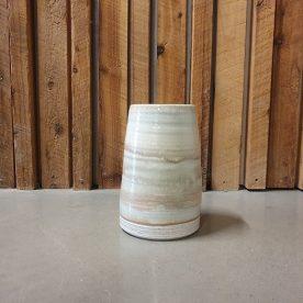 Karen Steenbergen Milk Country Rust Vase Stoneware and glaze $105