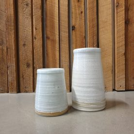 Karen Steenbergen Rust Series Vases Stoneware and Glaze $45 SOLD & $95