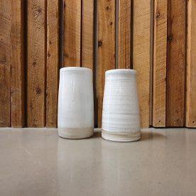 Karen Steenbergen Rust Series Vases Stoneware & glaze $95 & $85