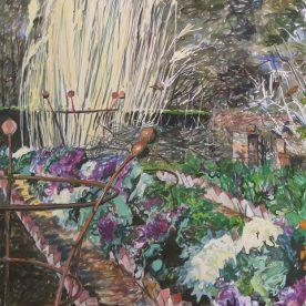Jo Reitze Winter Vegetables, Cloudehill Gouache on board 81 x 57 cm $2000