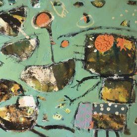 Margaret Delahunty Spencer Remember Me 3 450 x 550mm Framed $620